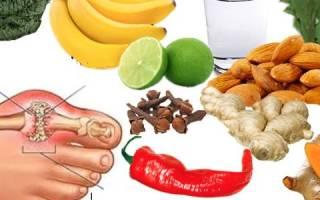 Овощи при подагре разрешенные