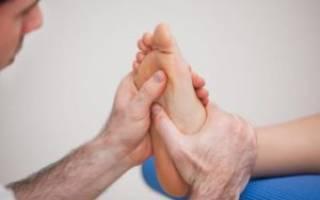 Болит ступня под пальцами при ходьбе