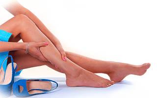 Онемение участка кожи на ноге