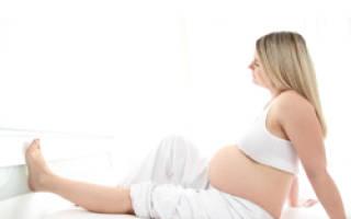 Тяжесть в ногах при беременности