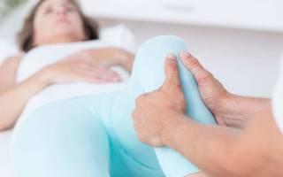 Тянущая боль в ноге от колена вниз