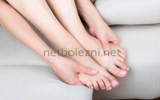 Онемевшие пальцы на ногах постоянно