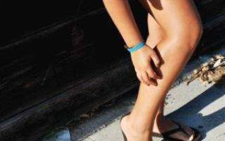Сильно чешутся ноги от колена до ступни
