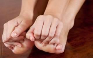 Мокрая экзема на ногах