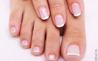 Грязные ногти на ногах