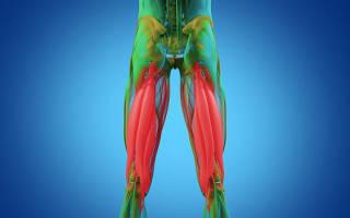 Растяжка коленных связок