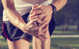 После пробежки болят колени