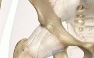 Боль в тазовом суставе правой ноги