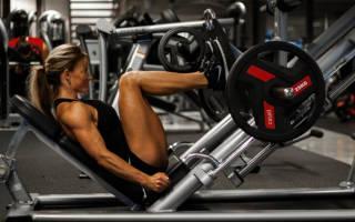 Упражнения для худых ног в домашних условиях