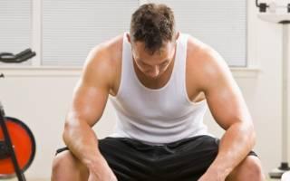 Слабость в мышцах после тренировки