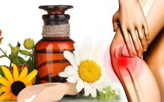 Лечение коленей народными средствами в домашних условиях
