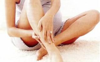 Как снять спазм икроножной мышцы