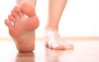 Онемели пальцы на левой ноге причина