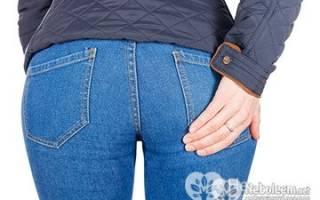 Боль в ягодице при ходьбе причины лечение