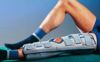 Лангетка на мизинец ноги