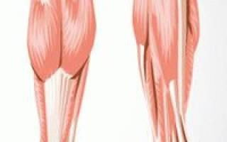 Болезни сухожилий и связок нижних конечностей