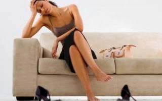 Почему подкашиваются ноги