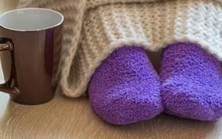 Почему ноги всегда холодные и мерзнут