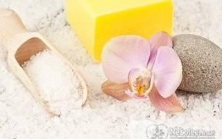 Горячая ванна с солью