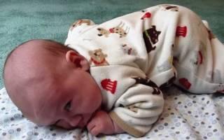 Спазм сосудов у новорожденного