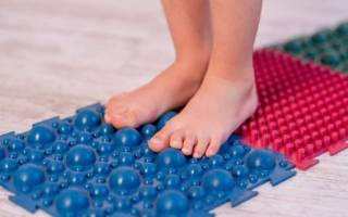 Ортопедический коврик для детей от плоскостопия