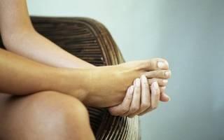 Тянущая боль в правой ноге