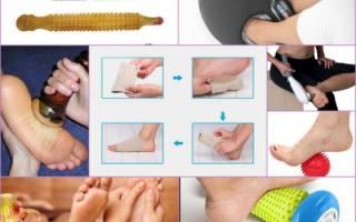 Методика массажа при плоскостопии