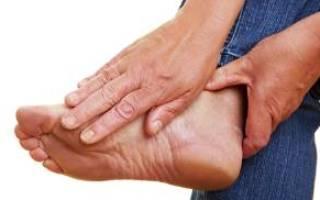 Невропатия стопы лечение