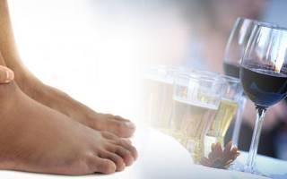 Отекают ноги после алкоголя