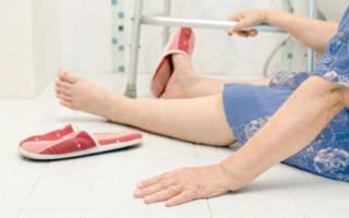 Перелом тазобедренного сустава в пожилом возрасте последствия