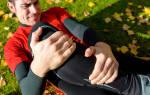 Чем лечить ушиб колена при падении