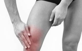 Болит колено отекла нога ниже колена