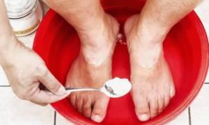 Лечение межпальцевого грибка на ногах народными средствами
