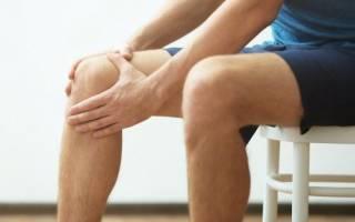 Боль в колене при вставании после сидения